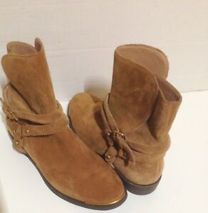 0cf1227ee86 Details about UGG Kelby Dark Chestnut Jodhpur Ankle Boots 6.5
