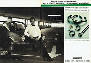 Publicite-Advertising-098-1983-De-Beers-bijoux-les-Florentines-2-pages-dia