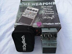 Intelligent Digitech The Weapon Dan Donegan-gratuit Livraison Le Jour Suivant Au Royaume-uni-afficher Le Titre D'origine