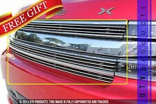 GTG 2013 - 2016 Ford Flex 3PC Polished Overlay Billet Grille Grill Kit