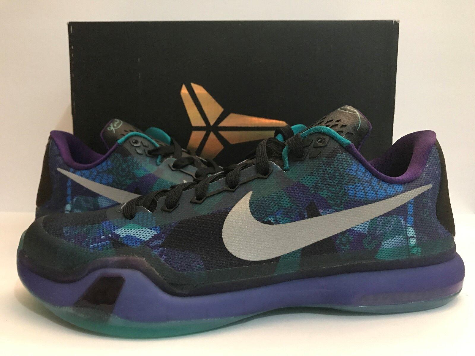 Nike Kobe X Overcome 705317-305 Sz 12