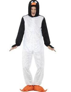Costume-Carnevale-Pinguino-Travestimento-Animale-In-Peluche-PS-03265