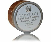 Babyface Exfoliating Blueberry Face Body Leg Polishing Scrub Smooth Skin
