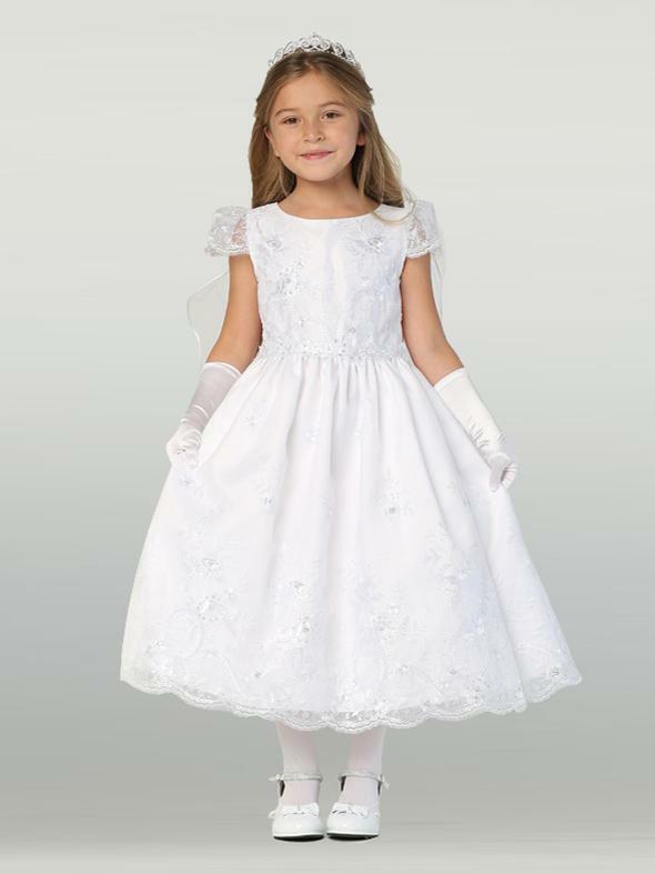 First Communion dress SP171 Swea Pea and Lili flower girl dress size 10 NWT
