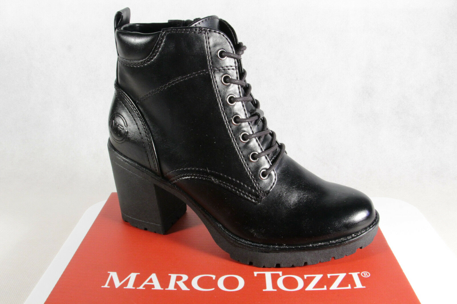 Marco Tozzi Stivali donna stivali stivaletti stivali coi lacci, 25204 NUOVO | Prezzo Affare  | Gentiluomo/Signora Scarpa