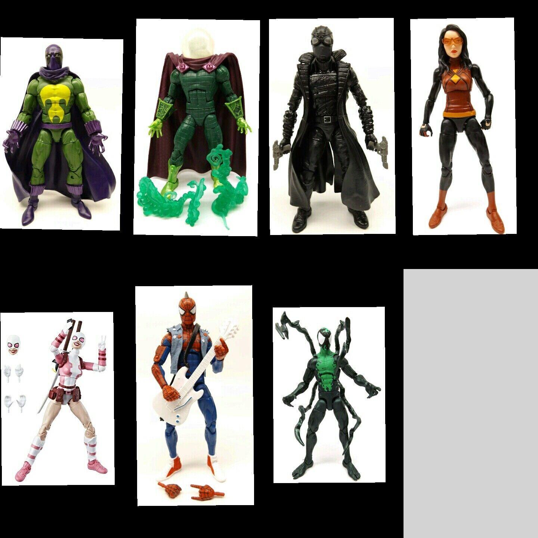 Marvel - legenden keine baf eidechse mysterio spiderman - schwarz - punk lasher komplett