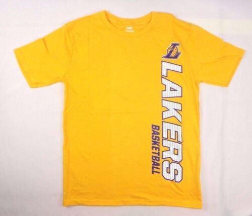 NBA Boys basketball Los Angeles Lakers Short Sleeve tee szs Med Large