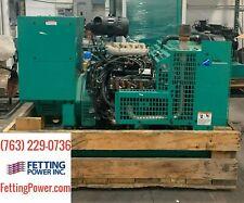 35kw Cummins Stationary Propane Generator Ggfd 120208v 3ph Sn J010300802