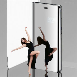 For OPPO F9 F7 F5 A83 R15 R17 Pro Clear View Mirror Stand