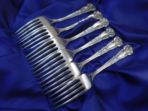 EXC COND S REED /& BARTON FRENCH RENAISSANCE STERLING SILVER DINNER FORK