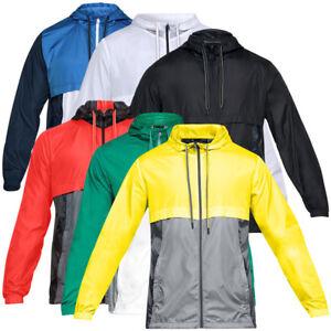 Under-Armour-Sportstyle-Windbreaker-Herren-Outdoor-Regen-Jacke-Windjacke-1306482