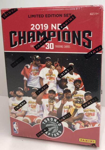 2019 Panini Toronto Raptors NBA Finals Champions 30 Cards Set |BRAND NEW SEALED