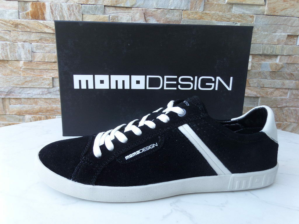 Momodesign Momo Sneakers Trainers Sz. 40 Lace up shoes Black New Previously