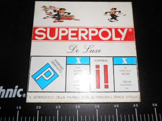 Gioco Tavolo Main Board Society Superpoly Monopoli De Luxe Deluxe