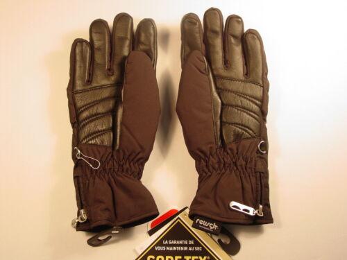 New Reusch GoreTex SubC Ski Board Gloves Womens Small Nanda #2931343 BLACK 7