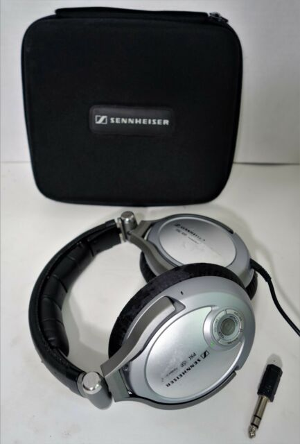 Sennheiser PXC 450 Headband Headphones Noise Guard Noise Cancelling- Silver