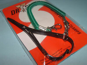 Dr Slick 5 1/2 in Mitten Scissor Clamps Black Straight Fly Fishing Clamp CMS55B