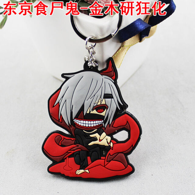 Best Gift for Anime Fans Cute Pinched PVC Keychain Death Note Fairy Tail  SAO OP