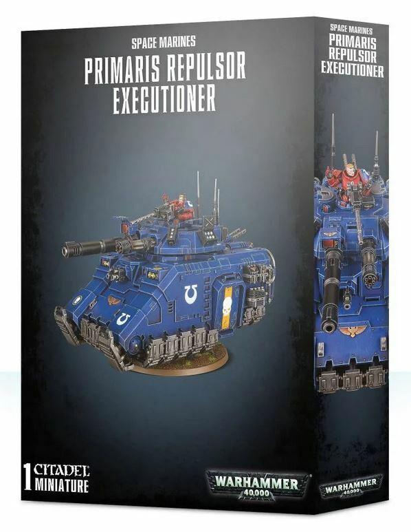 Space Marines Primaris Repulsor Executioner Games Workshop 40k Tank