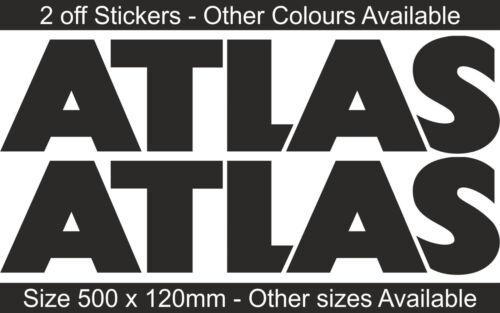 ATLAS Grue HydrauliqueAutocollant Décalque GraphiqueSF1 SF2Différentes CouleursBB181