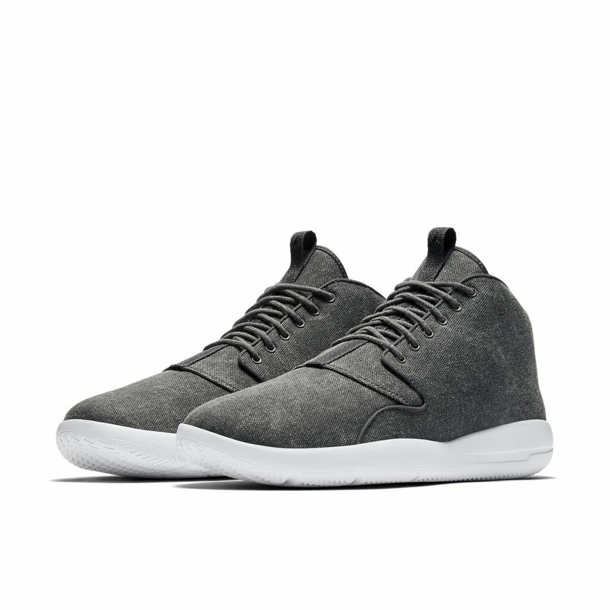 NIKE AIR MEN JORDAN ECLIPSE CHUKKA MID MEN AIR SHOES ANTHRACITE 881453-006 SIZE 8.5 NEW bff53a