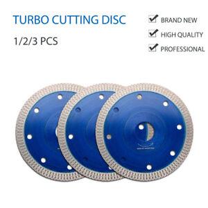 Porcelaine-Tuile-Coupe-diamant-Disque-de-lame-turbo-115mm-4-5in-Meuleuse-d-039-angle