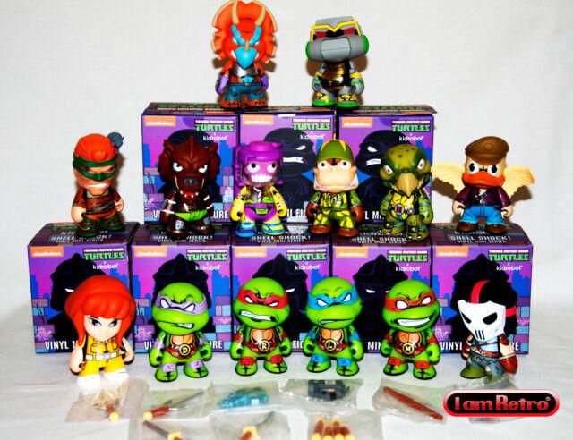 """Kidrobot Mini Series TMNT Teenage Mutant Ninja Turtles 3/"""" Pezzi Singoli Selezion"""