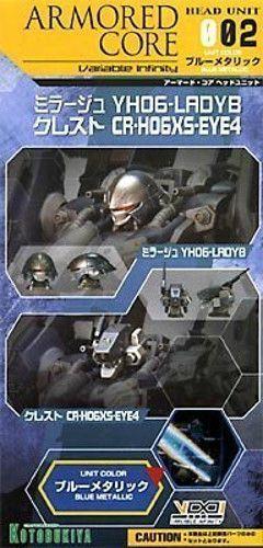 Kotobukiya Corrazzata  Core Testa Unità 002 Blu Mettuttiico Versione 1 72  economico e di alta qualità