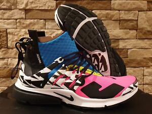 12ba5acd323 SHIP NOW Acronym x Nike Air Presto Mid 4-14 Racer Pink Black Blue ...