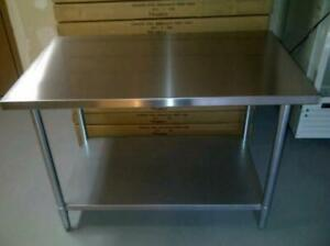 BRAND NEW Stainless Steel Worktables, Sinks, And Shelves -- CLEARANCE SALE!!! Edmonton Edmonton Area Preview