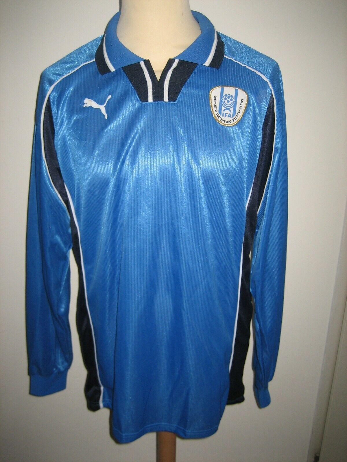 d1f6efc3b Israel 90 s home IFA shirt soccer jersey maillot trikot vintage size XL  football nulfcb4850-Overig
