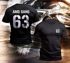 Black-Man-039-s-T-Shirt-r-d-s-G-nz-Gang-63-Logo-Emblem-Benz-Shirt-T