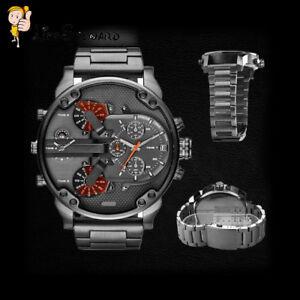Hot Stainless Steel Luxury Sport Analog Quartz Modern Men Fashion Wrist Watch