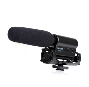 TAKSTAR-SGC-598-Interview-Microphone-pour-Nikon-Canon-Appareil-photo-video-numerique-Camescope-DSLR