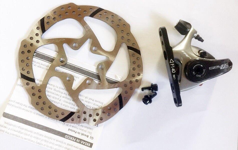 1 WHEEL TRP Spyre SLC Flat  l Carbon Front Rear 160 140 mm Disc Brake calipers