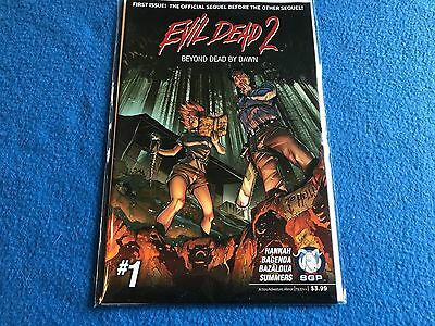 Evil Dead 2 #3 Of 3 Beyond Dead By Dawn Comic Book 2015 Space Goat