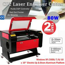 2820 80w Co2 Laser Engraver Cutter Engraving Machine Ruida Dsp Red Dot Pickup
