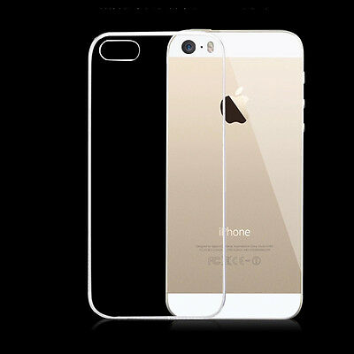 0.3mm Ultra Thin Slim Crystal Clear Transparent Soft Silicone TPU Case Cover