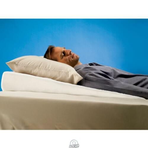 The Sleep Improving sloped Pillow Wedge Subtle Incline Cotton//Polyester