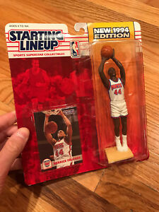 NBA STARTING LINEUP DERRICK COLEMAN 1994 FIGURE NEW SEALED