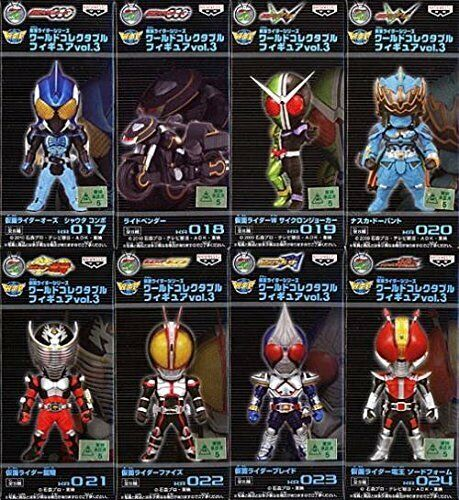 Masked Rider Series World Collectible Figures Vol.3 8 Speciesf S