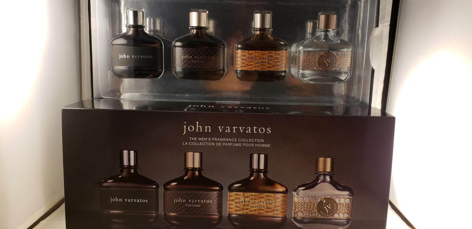 John Varvatos Collection Coffret Set Of 4 Brand For Sale Online Ebay