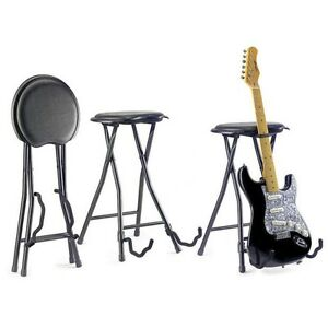 GUITAR STOOL Guitarist Throne IBANEZ MUSIC CHAIR FOLDING