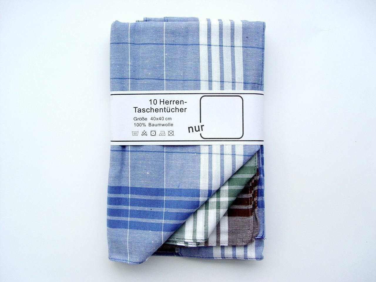 10 Mens Handkerchief Cloth Handkerchief Handkerchiefs Arabias 84-550