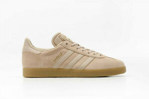 Details about adidas Originals GAZELLE Clay Tan Khaki Beige GOLD GUM Brown Shoes BB5264 Men 8