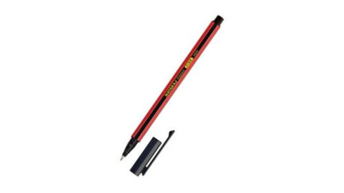 40x Nataraj Classic BLACK Fine Ball Penlight weight pen Smooth writing