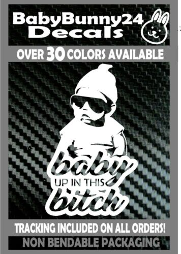 Baby Carlos baby up in this Bitch Hangover on board Van Car Vinyl Decal Sticker