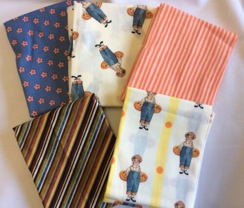 FAT QUARTER BUNDLE OF 5100% COTTON F58 FALL