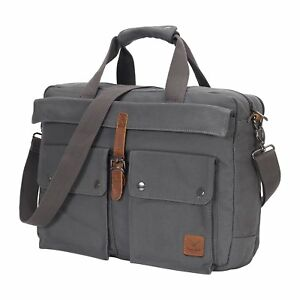 15-6-inch-Multifunctional-Canvas-Laptop-Bag-Computer-Messenger-Shoulder-Bags