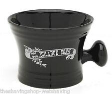 Ceramic Shaving Mug Apothecary Style w/Knob Handle Col Conk Logo